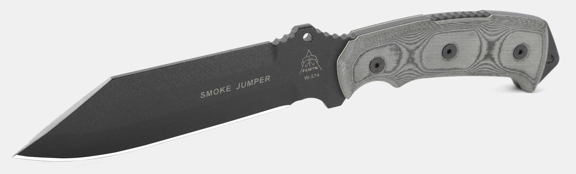 TOPS Knives Smoke Jumper Knife Fixed Blade