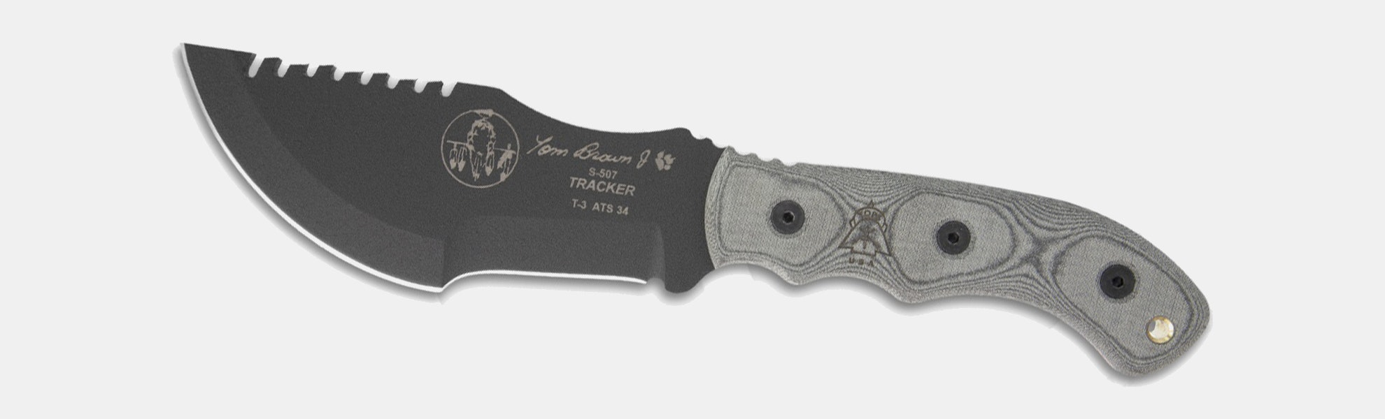 TOPS Tom Brown Tracker T-3 Fixed Blade Knife