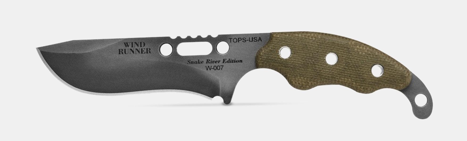 TOPS Wind Runner SRE Fixed Blade/Combo