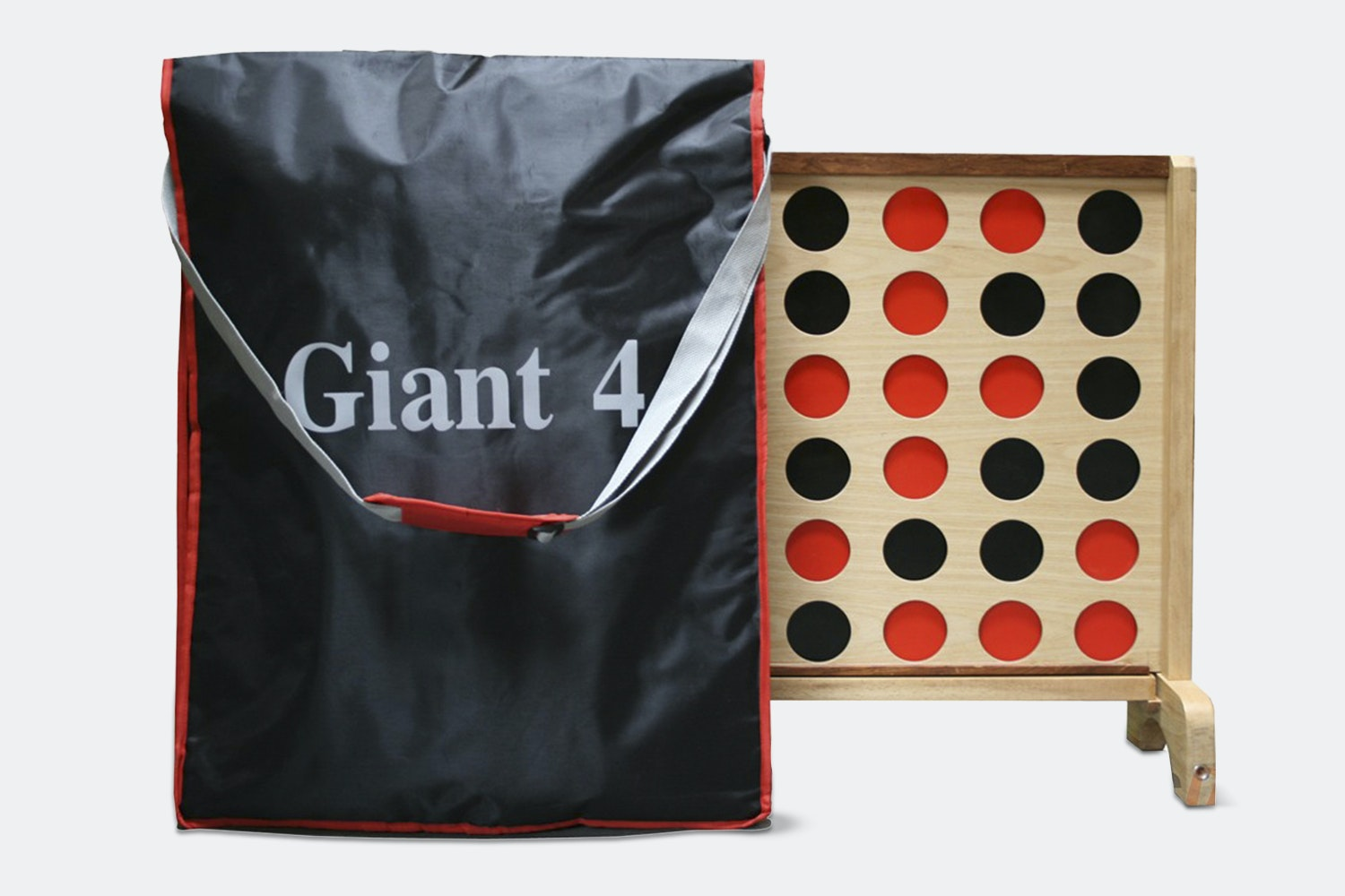 Tosso Giant 4-in-a-Row Game With Carrying Bag