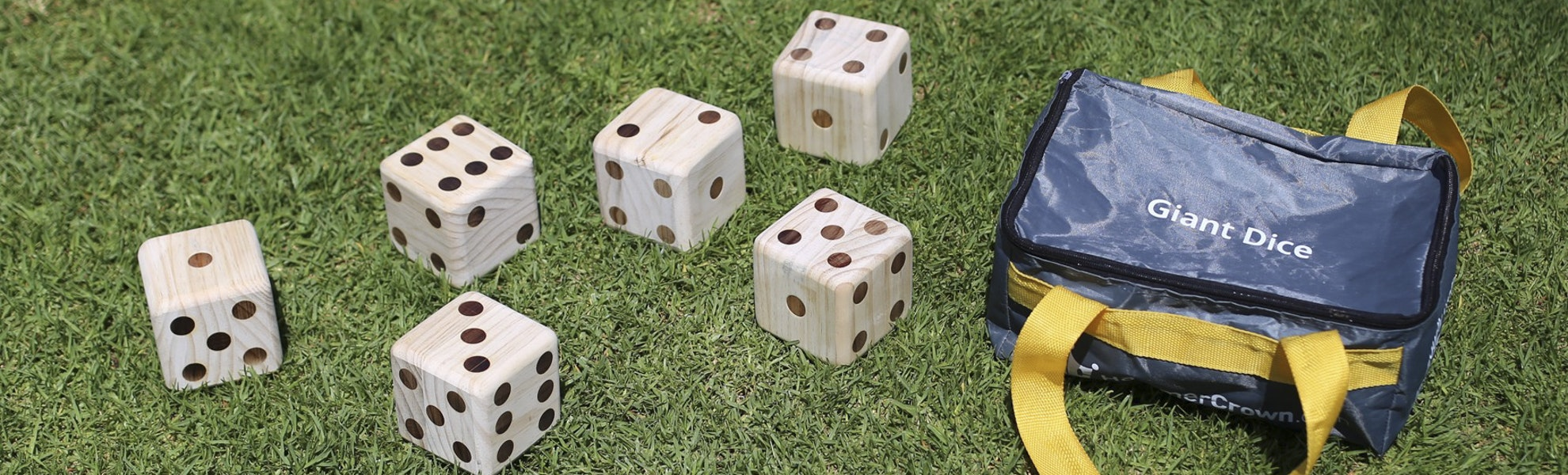 Tosso Outdoor Giant Dice and Dominoes
