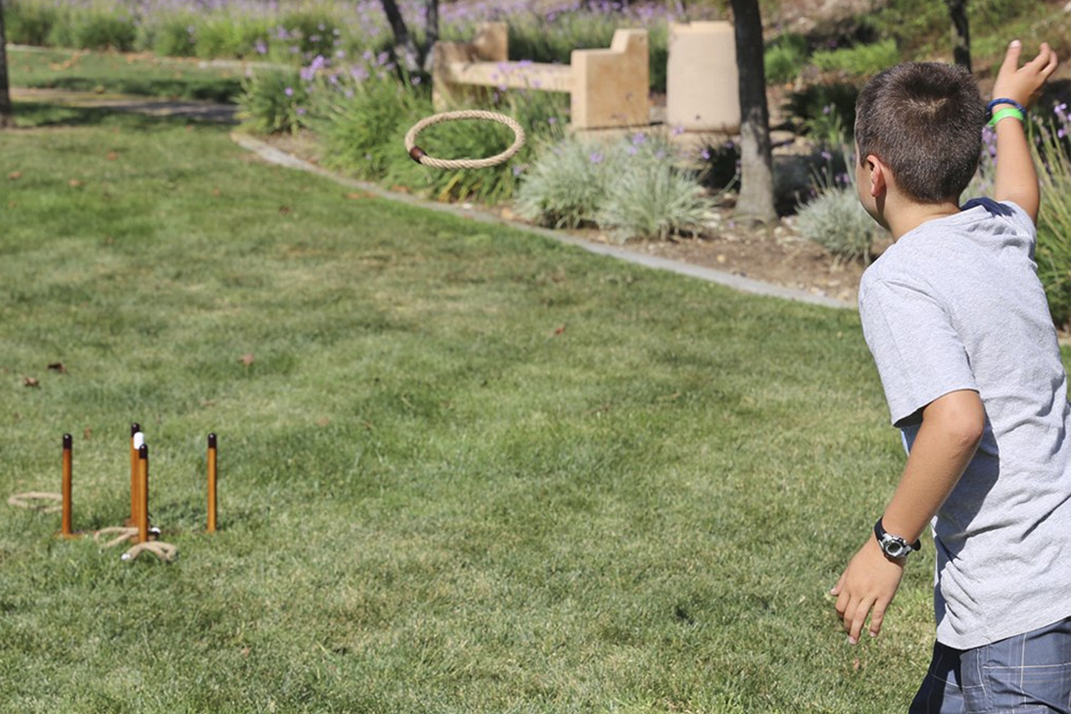 Tosso Quoits Ring Toss Game