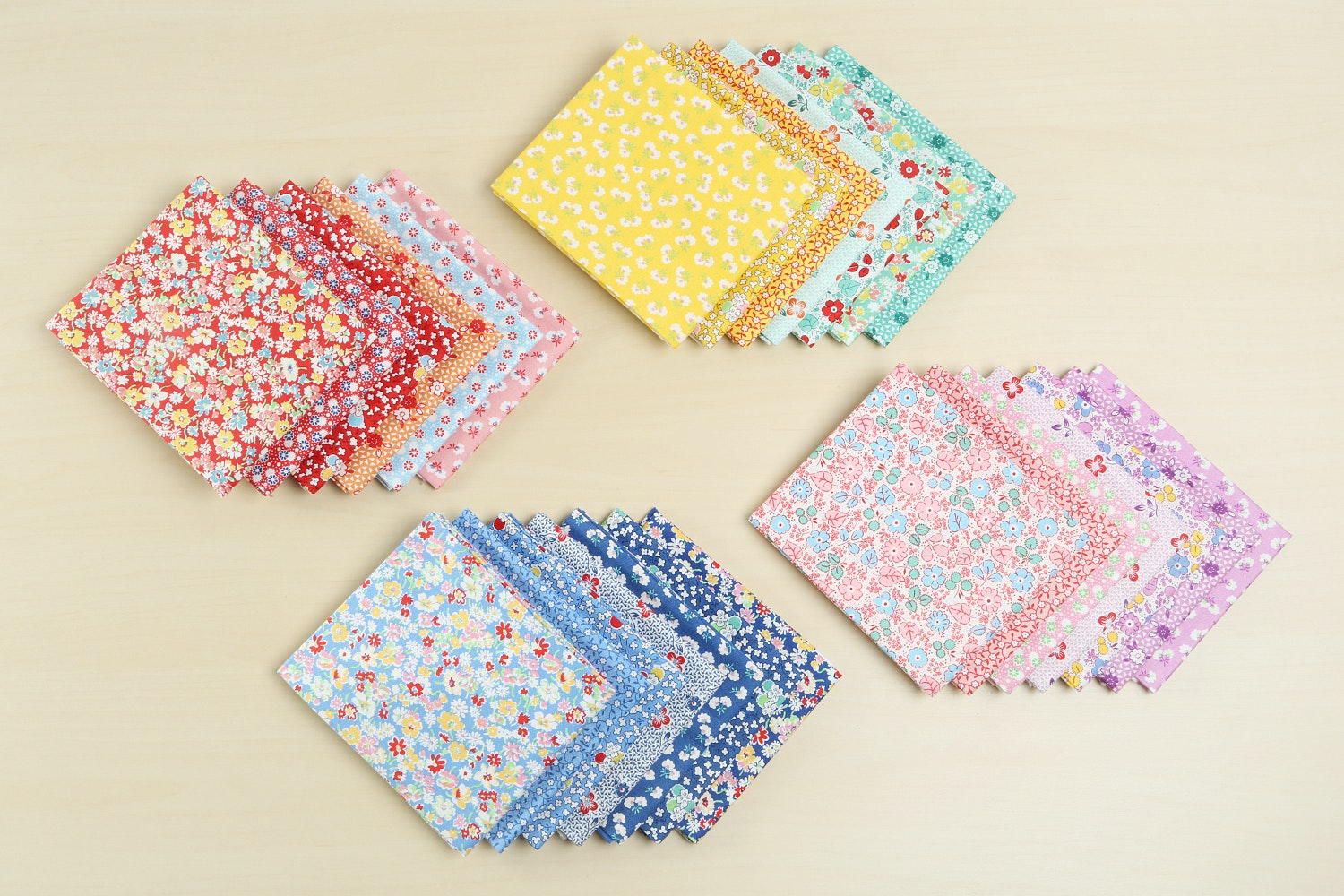 Toy Chest Florals Fat Quarter Bundle