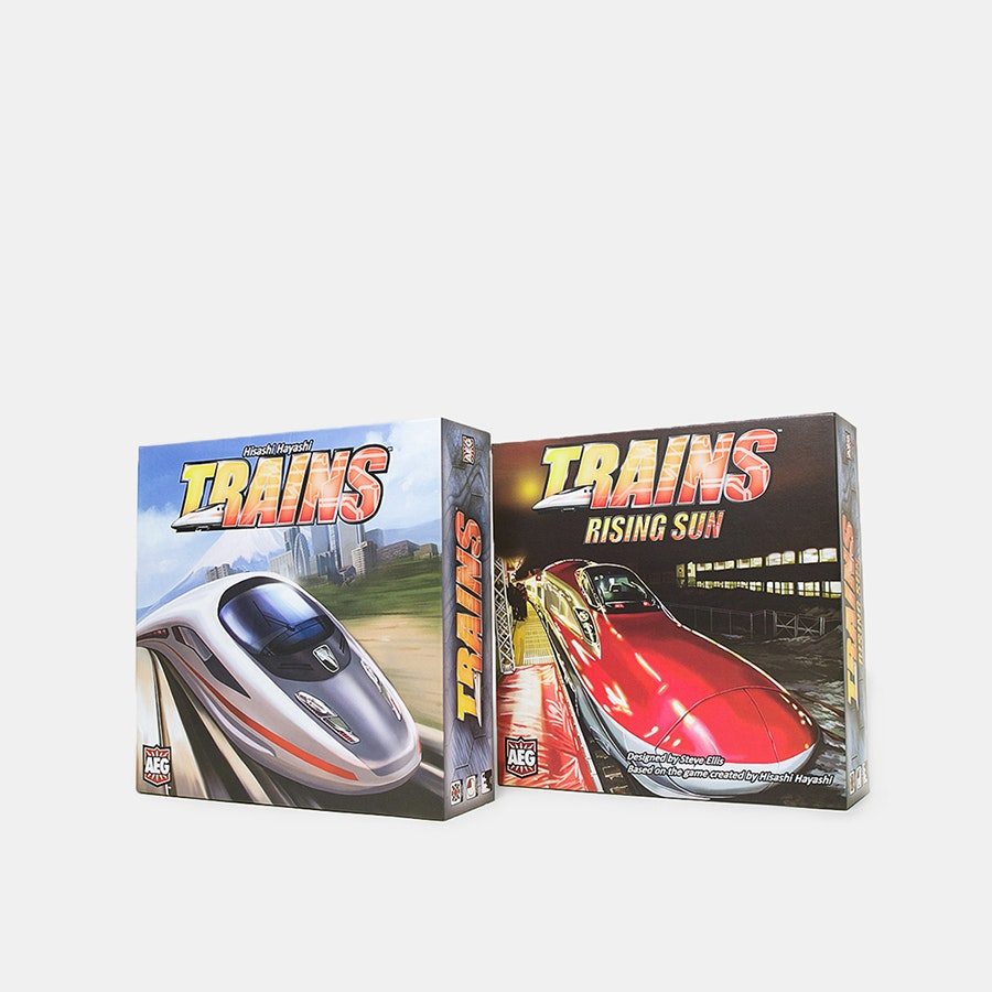 Trains Board Game Bundle
