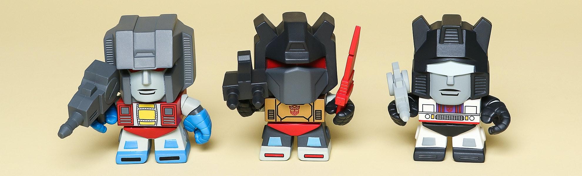 Transformers Series 1 Blind Box Vinyl Figures