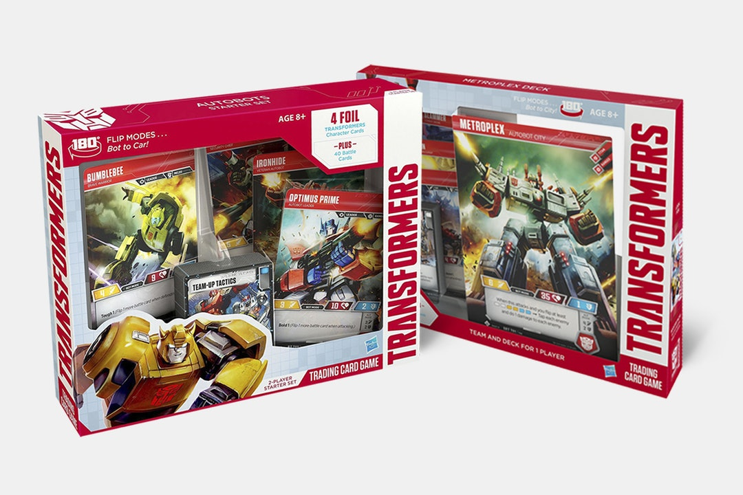Transformers TCG Starter Set & Metroplex Bundle