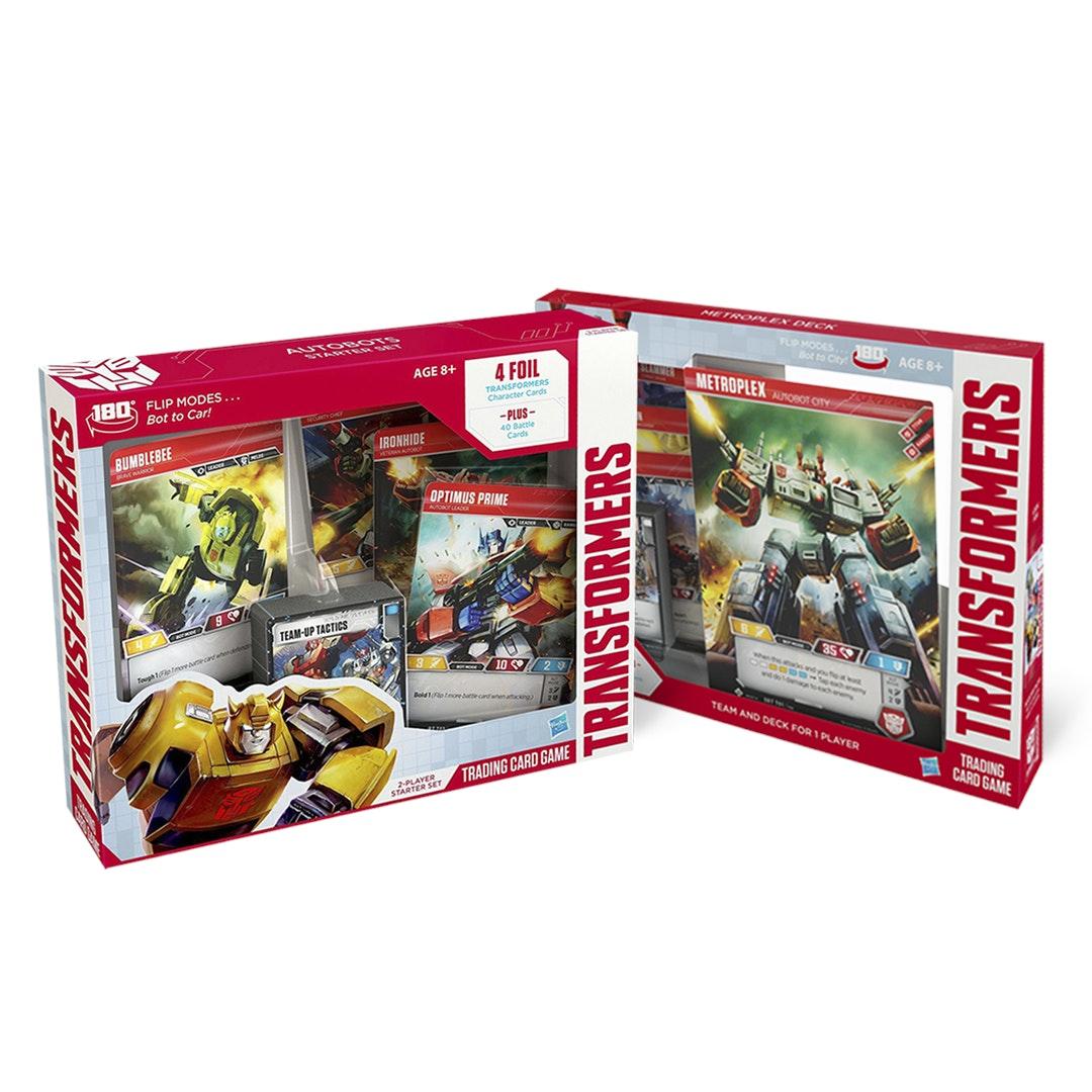 Transformers TCG Starter Set & Metroplex Bundle