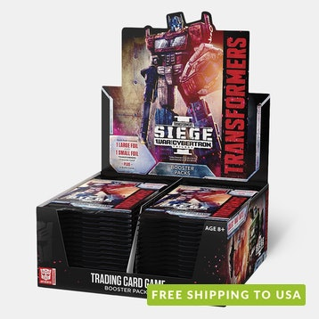 Transformers TCG: War for Cybertron Siege 1 Box
