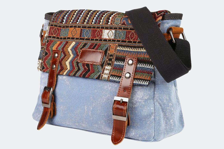 Messenger Bag - Blue