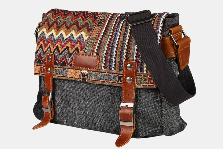 Messenger Bag - Dark Gray