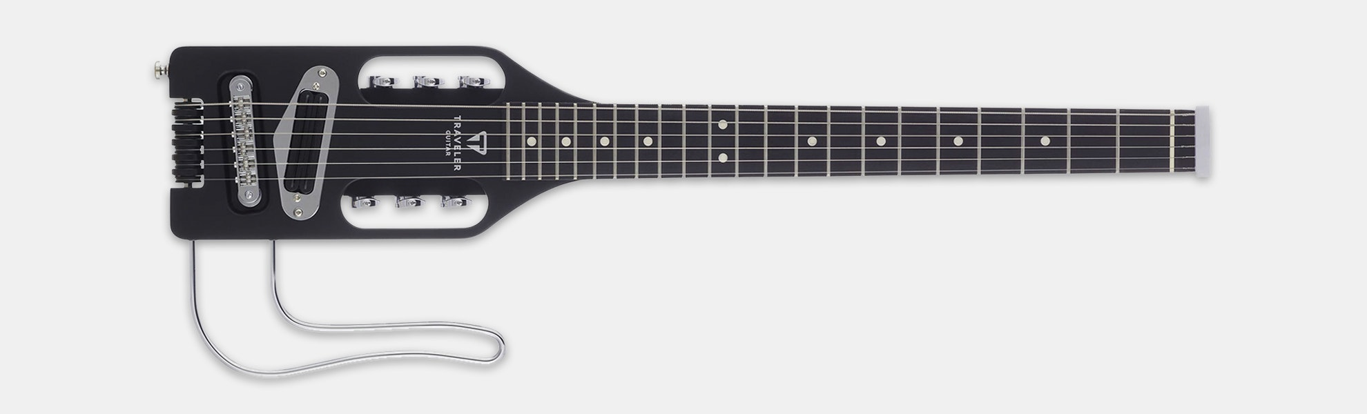 Traveler Guitar Ultra-Light Electric Black B-Stock
