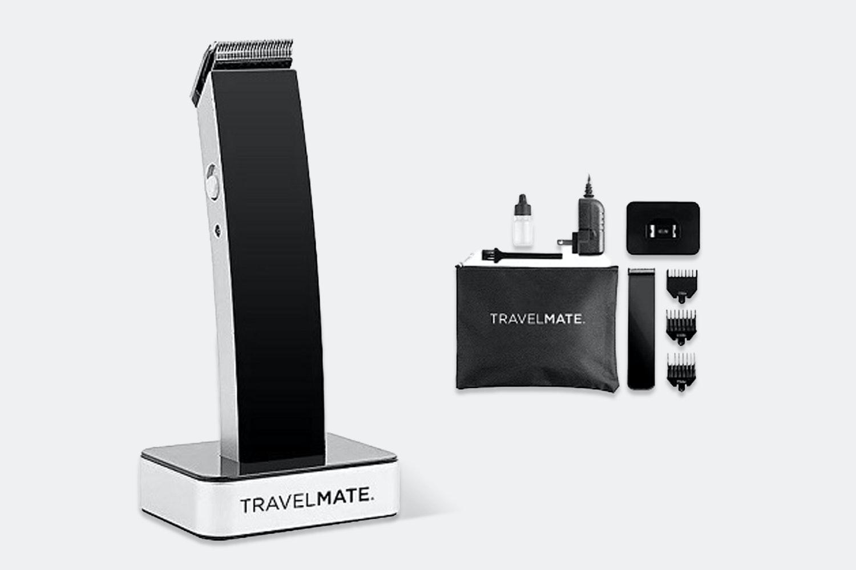 TravelMate Hair Clipper Kit w/ Black Matte Finish