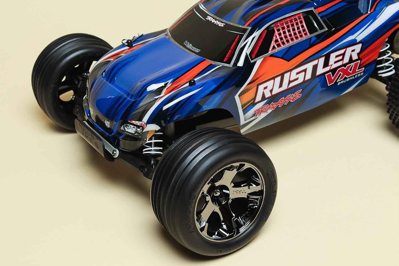 Traxxas Rustler VXL TQI 2WD Brushless Truck RTR
