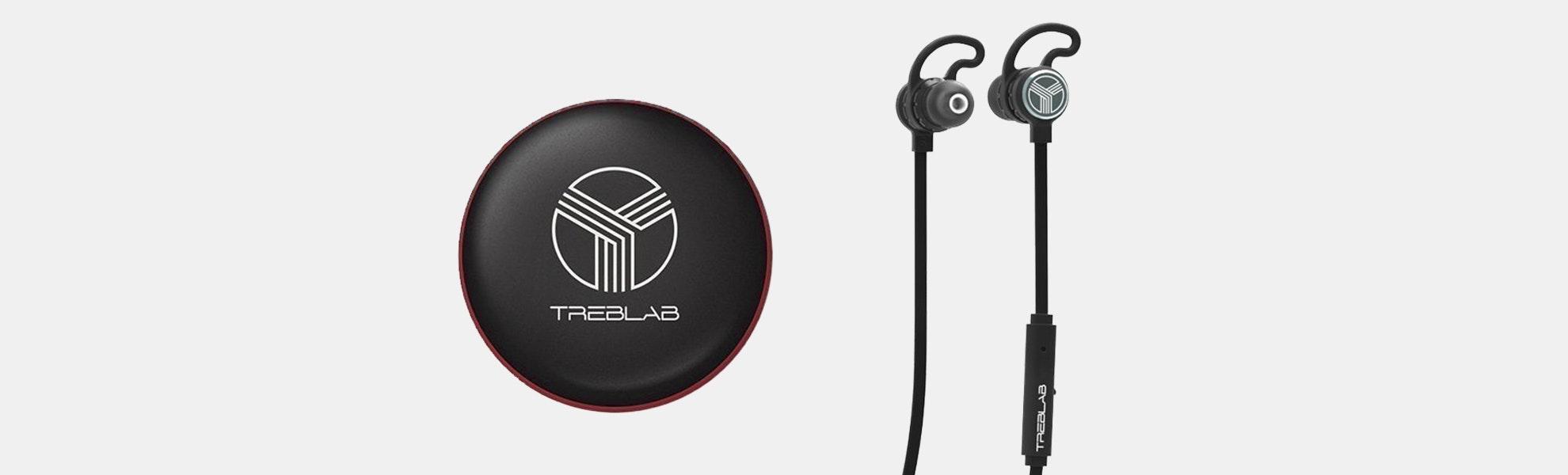 Treblab J1 IPX6 Bluetooth Earbuds