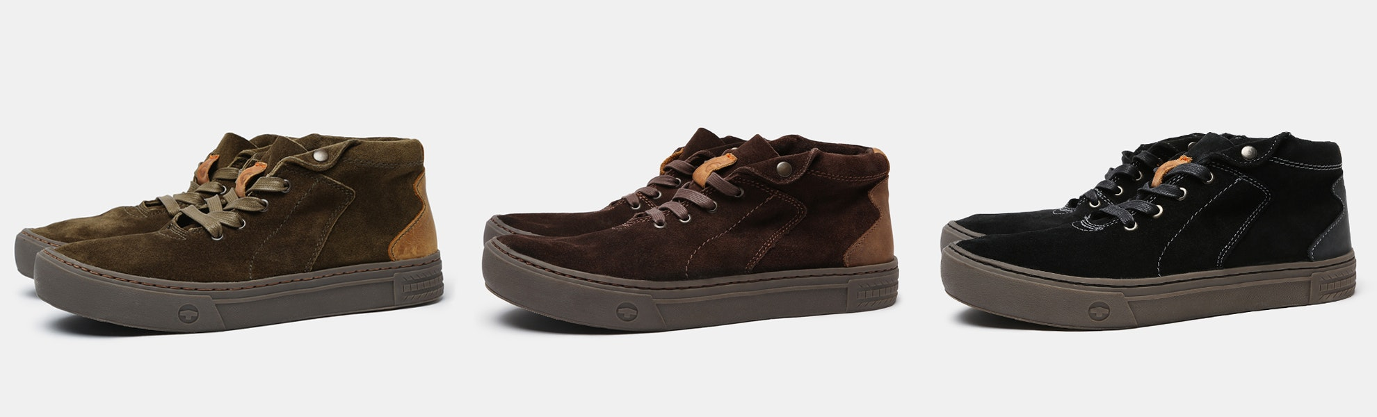 TREDAGAIN Hawthorne Suede Mid-Top Sneaker