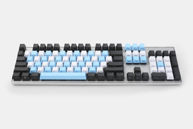 Blue/White/Black