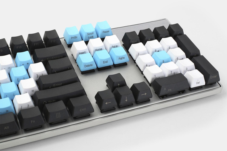 Tri-Tone 104-Keys PBT Keycap Set