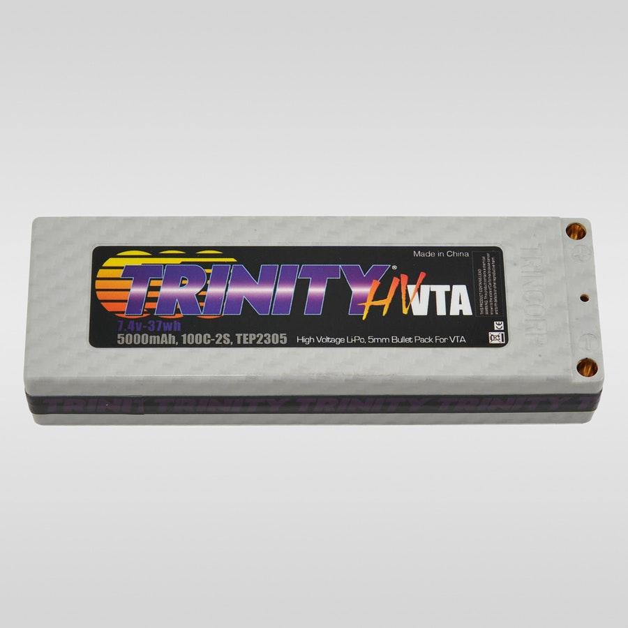 Trinity White Carbon 7.4v 5000mah 100C Pro