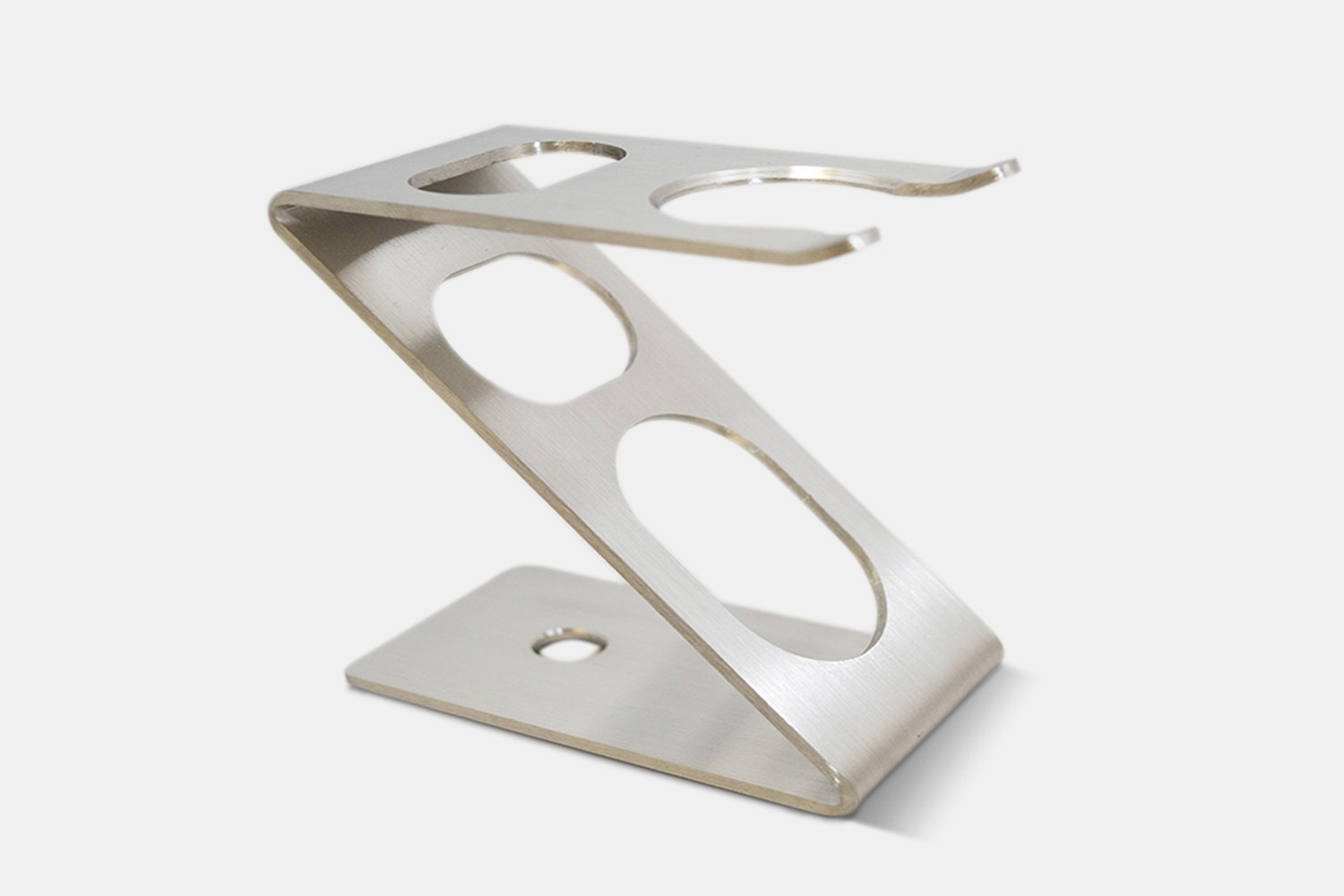 Z Brush and Razor Stand – Stainless Steel (+ $21)