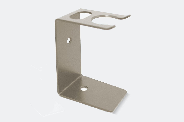 Brush and Razor Stand – Stainless Steel (+ $11)