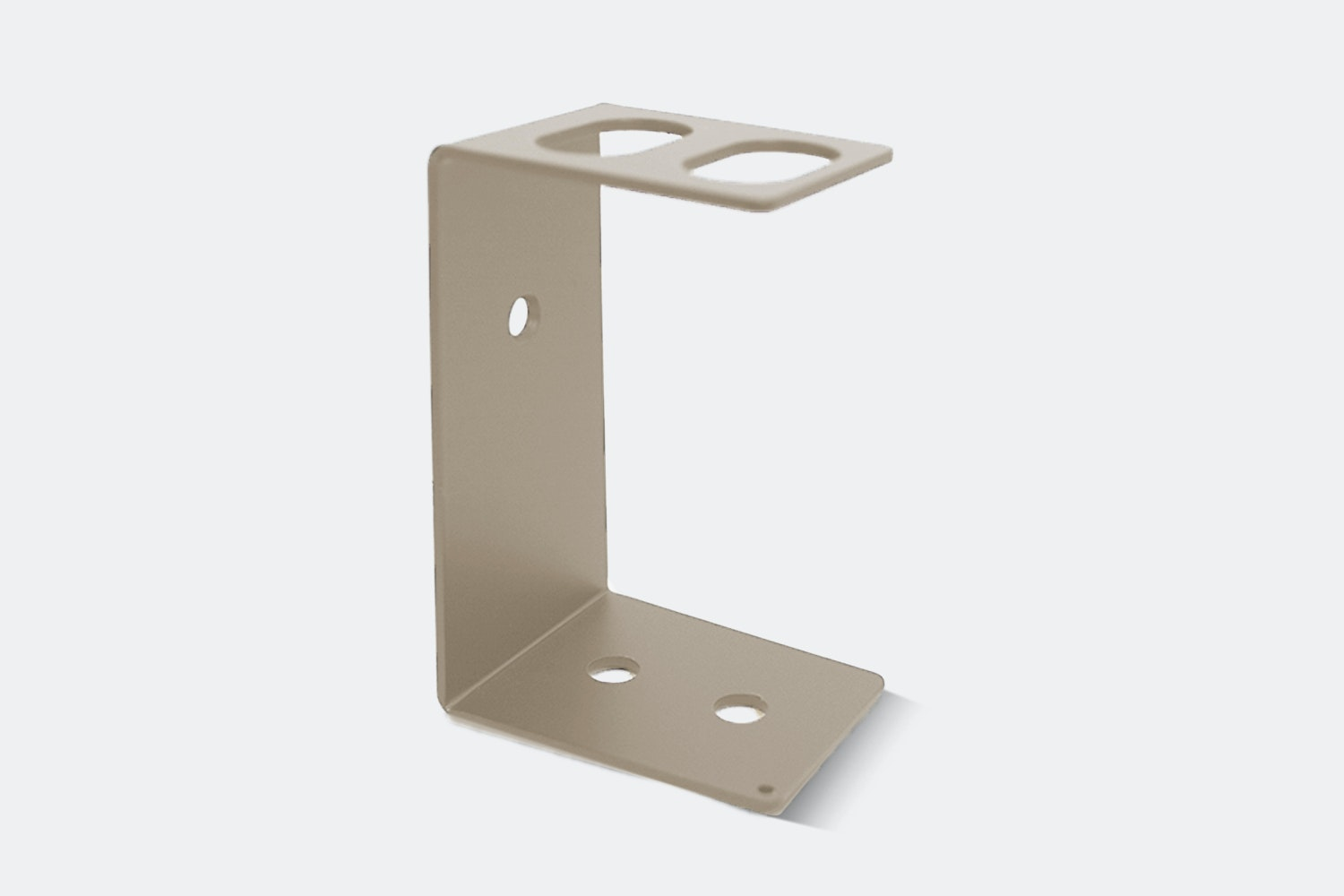 Dual Razor Stand – Stainless Steel (+ $6)
