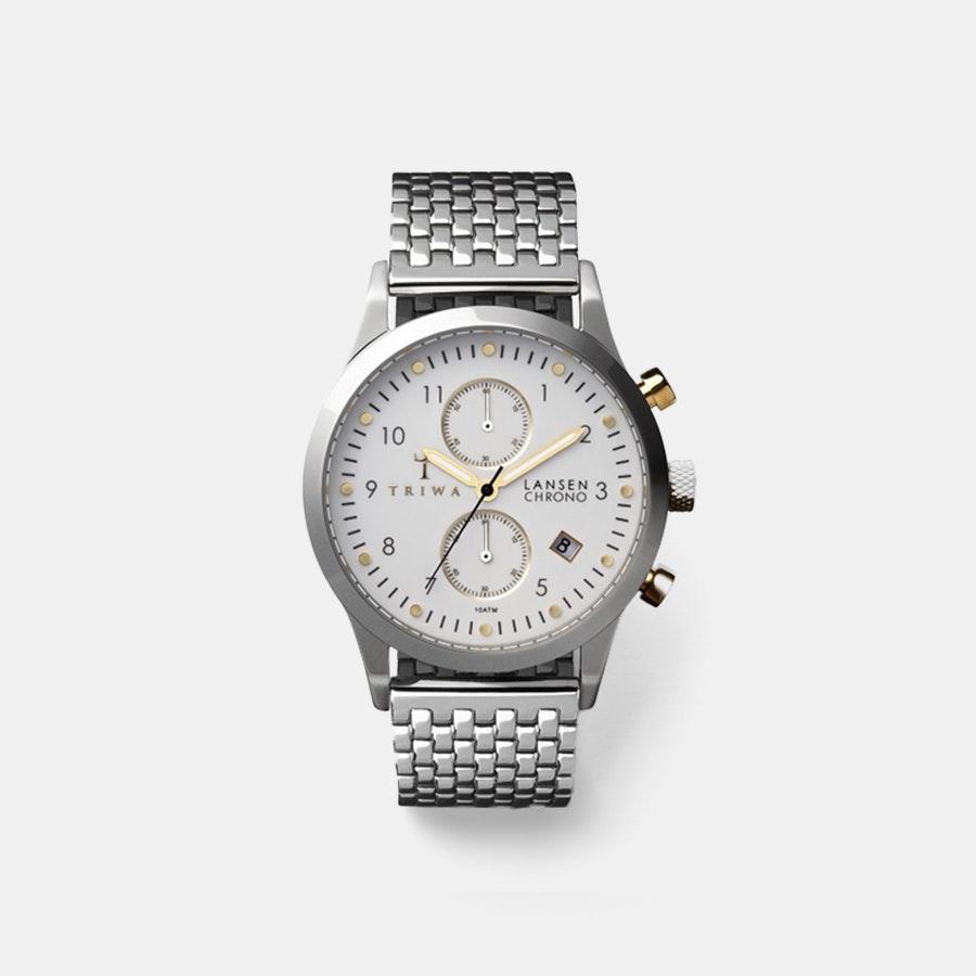 Triwa Ivory Lansen Chronograph Quartz Watch & Strap