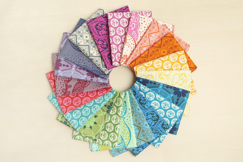 True Colors Fat Quarter Bundle by Anna Maria Horner