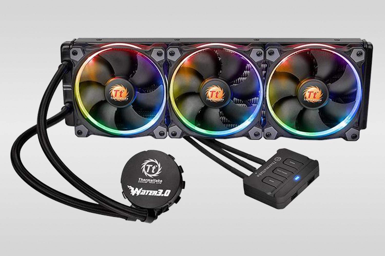 Triple-fan Water 3.0 Riing RGB 360 (+ $30)