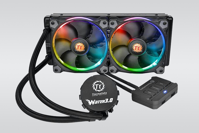 Dual-fan Water 3.0 Riing RGB 240