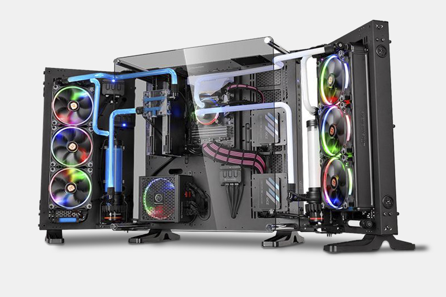 TT Core P7 Tempered Glass Full Tower Chassis