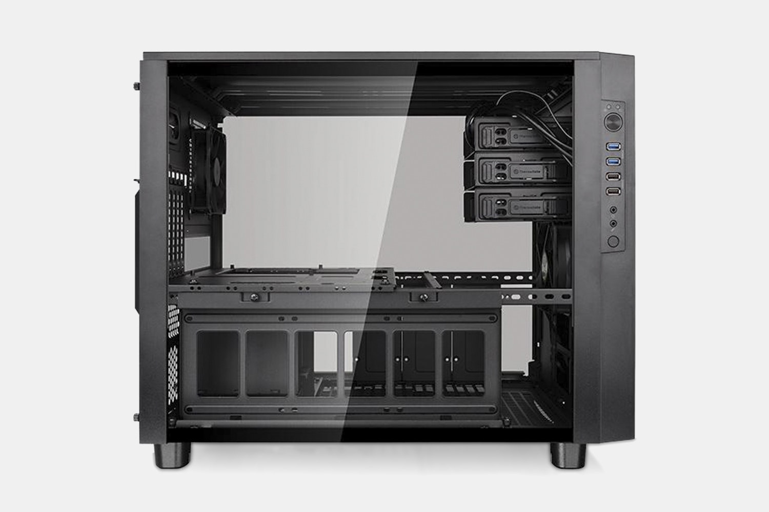 TT Core X5 Tempered Glass Chassis (Black Edition)