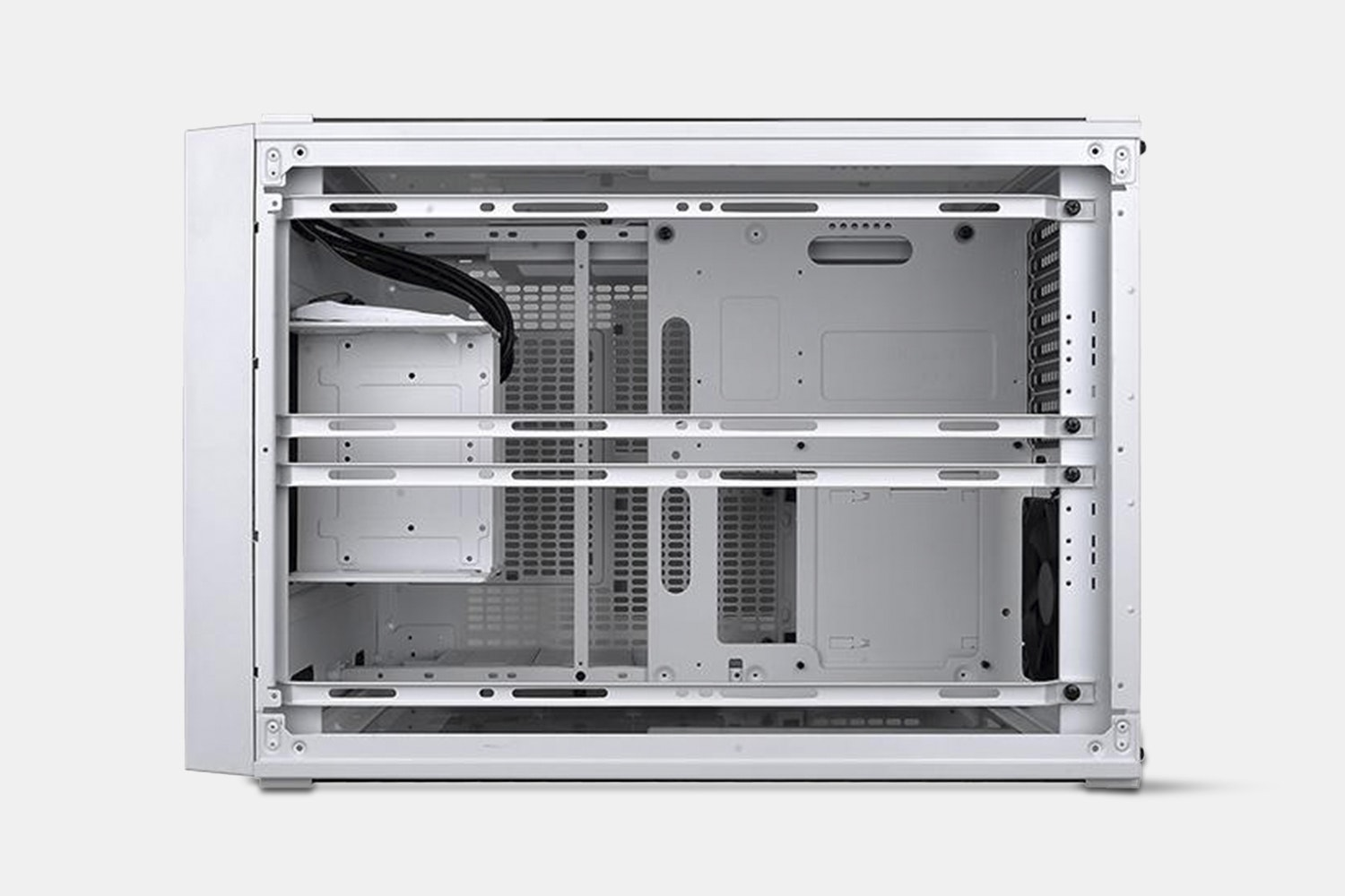 TT Core X5 Tempered Glass Snow Edition Cube Chassis