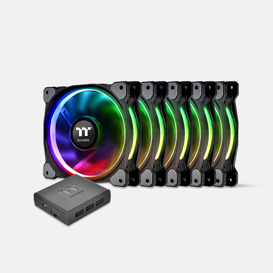 TT Riing Plus Premium Edition LED RGB Radiator Fans