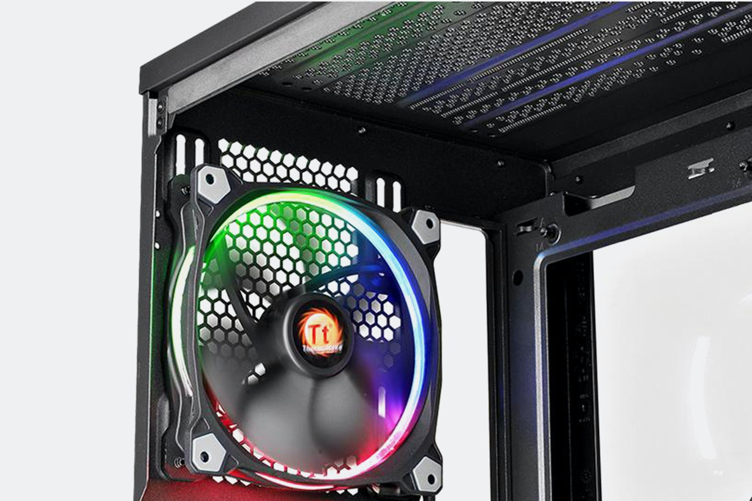 TT View 31 TG RGB Tempered Glass Mid-Tower Chassis