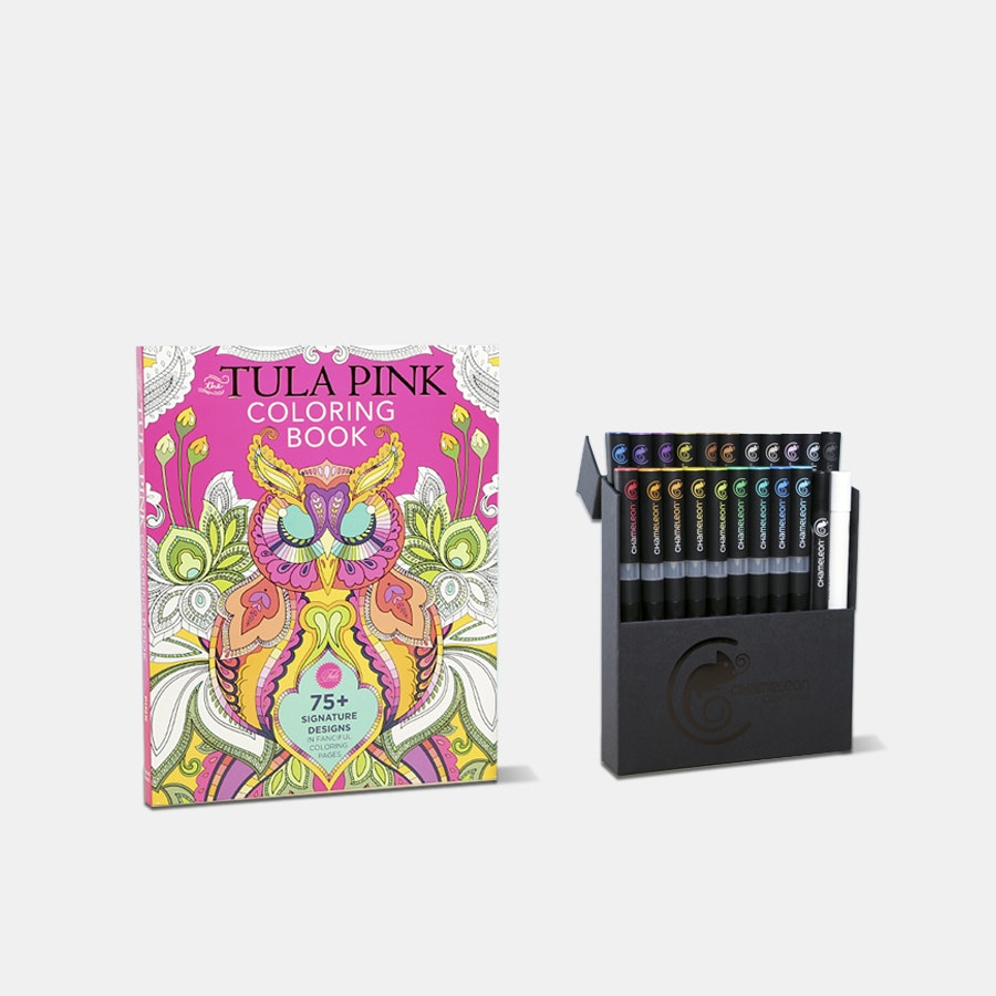 Tula Pink Coloring Book Bundle
