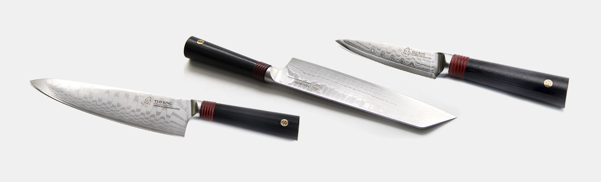 Tuo Cutlery Knives: Ring D Collection