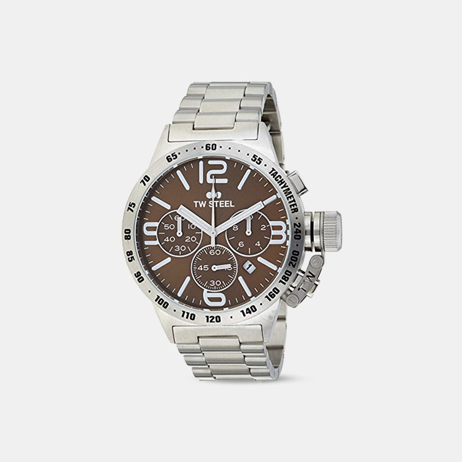 TW Steel Canteen Chronograph Quartz Watch