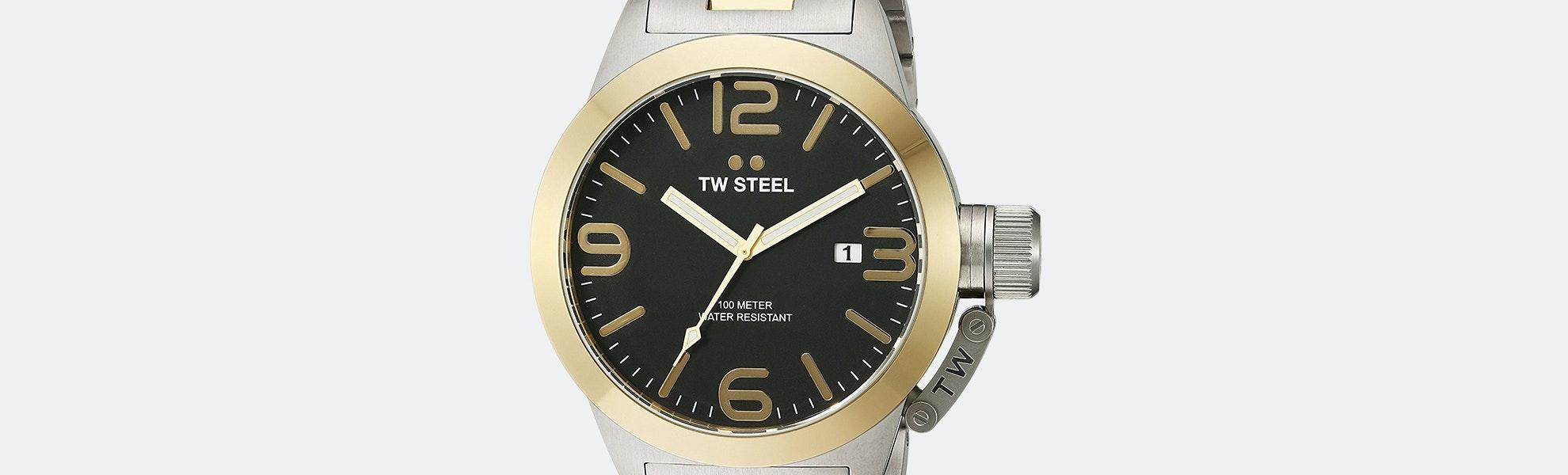 TW Steel Canteen Quartz Watch