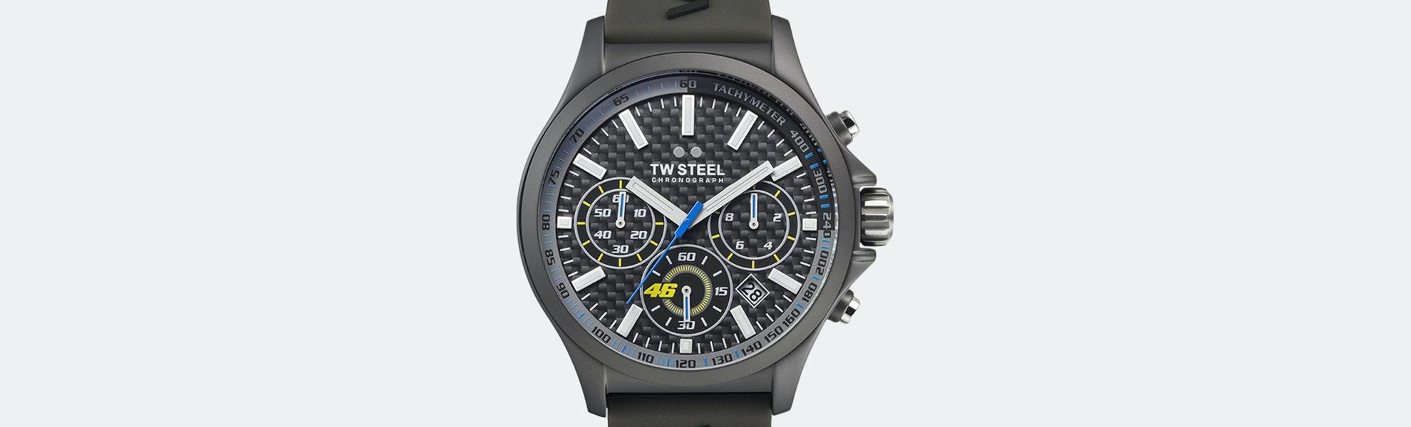 TW Steel VR46 Pilot Quartz Watch