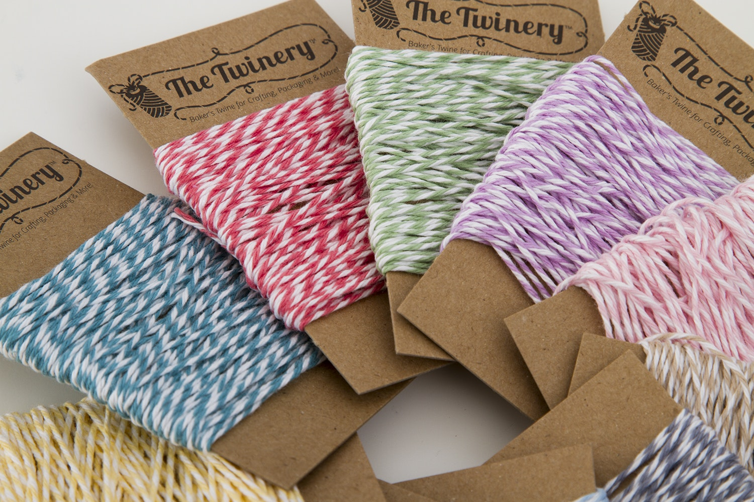 The Twinery 10-Color Mini Bundle Twine Set