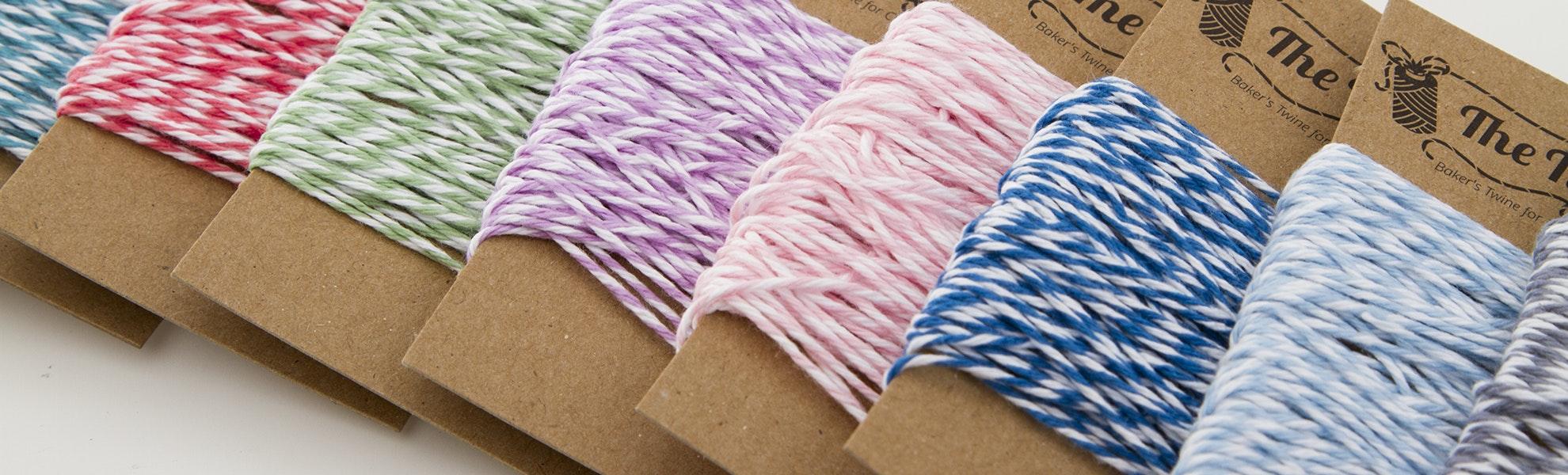 The Twinery 10-Color Mini Bundle Twine Set