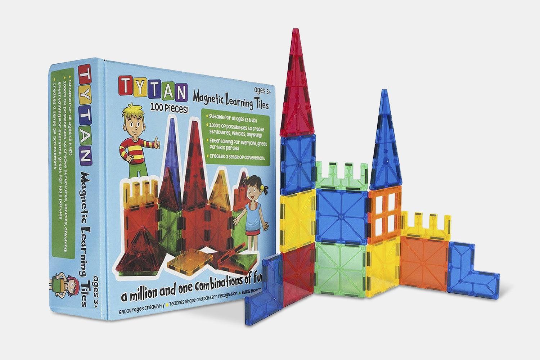 Tytan Magnetic Learning Tiles (100-Piece Set)