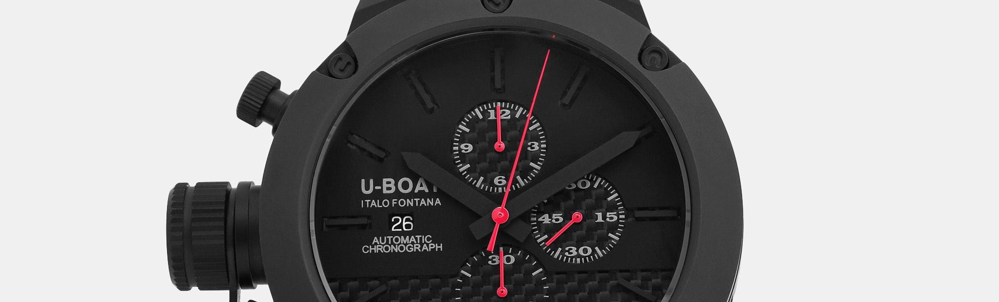 U-Boat Classico Titanium U-72 Automatic Watch