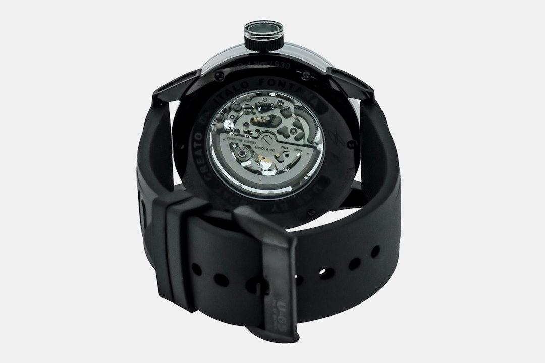 U-65 by U-Boat Skeleton Automatic Watch