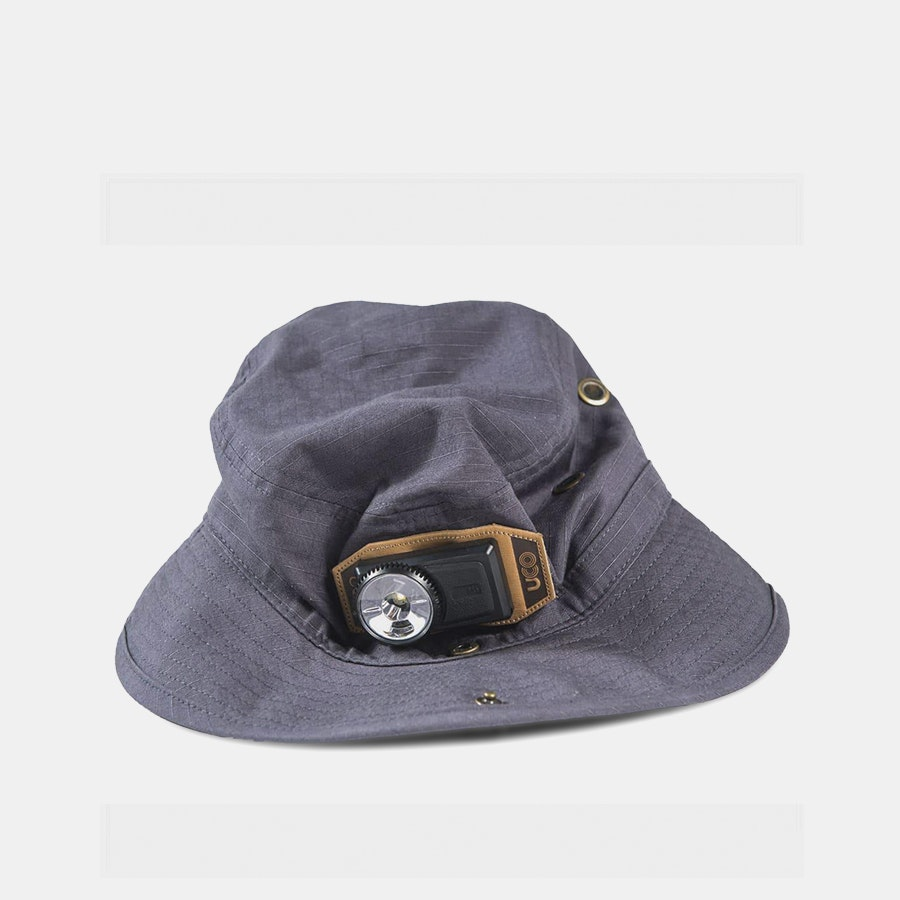 UCO Nightcap Bucket Hat w/ Headlamp