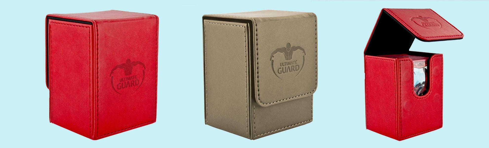 Ultimate Guard Flip Deck Case 80+ Leatherette