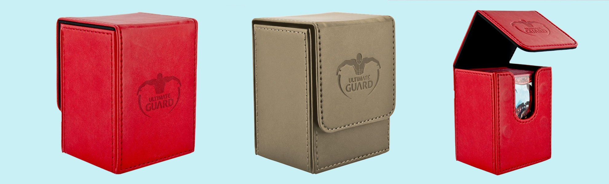 Ultimate Guard Flip Deck Case 80+ Leatherette