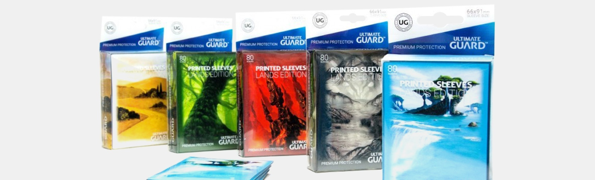Ultimate Guard MTG Lands Edition Sleeves (5-Pack)