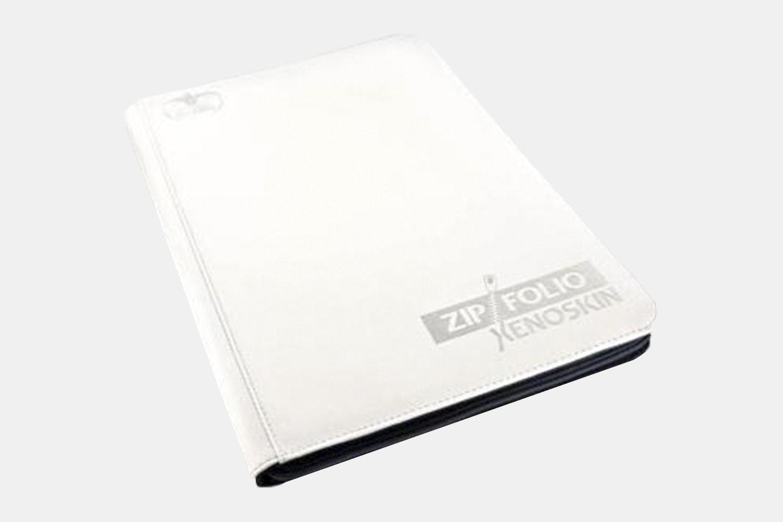 Green Ultimate Guard 9 Pocket XenoSkin Zipfolio