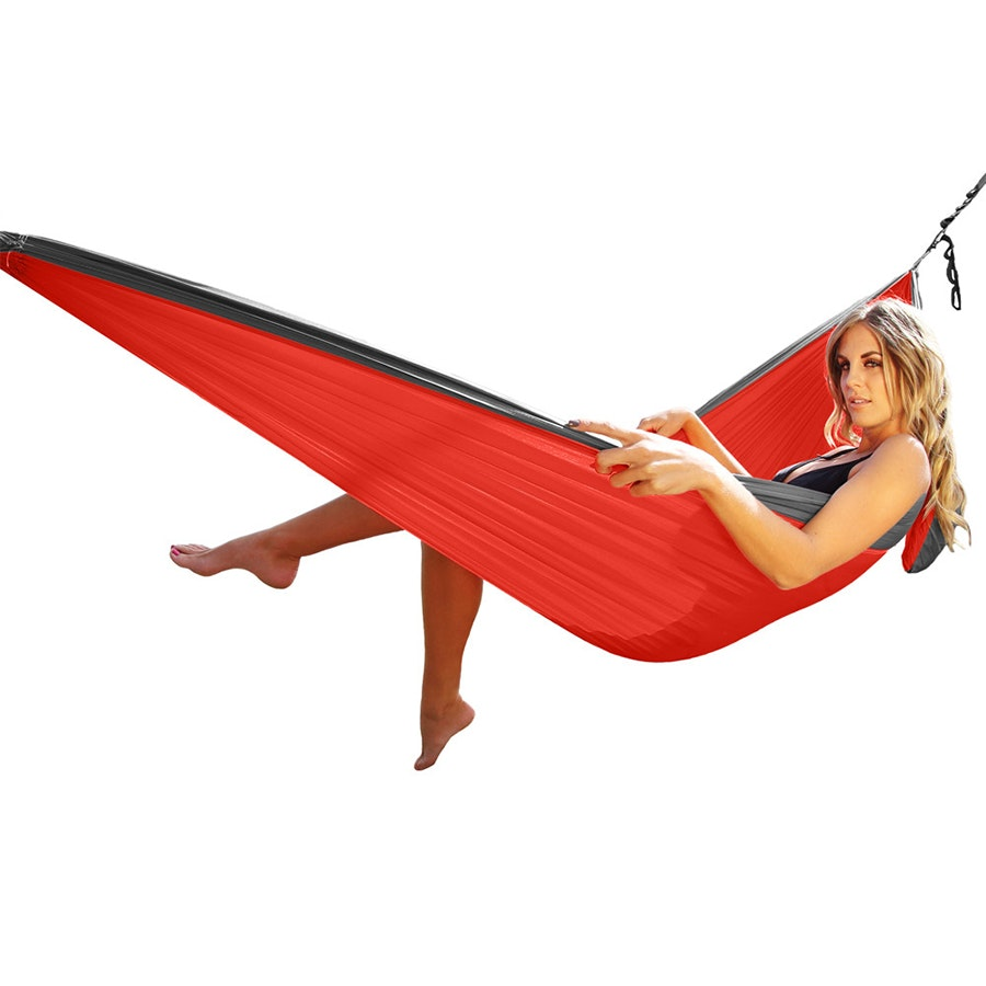 Ultimate Hammock, Red/Charcoal
